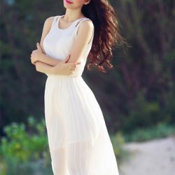Váy maxi mát mẻ mùa hè